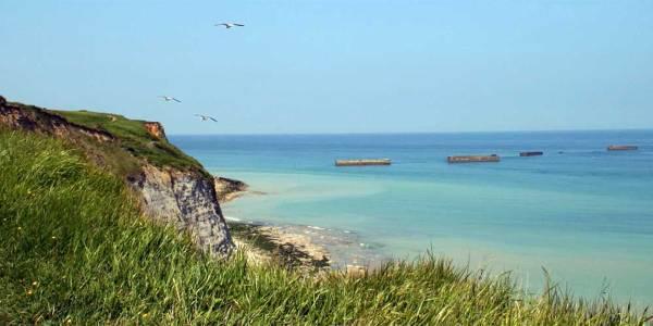 Caen - beach