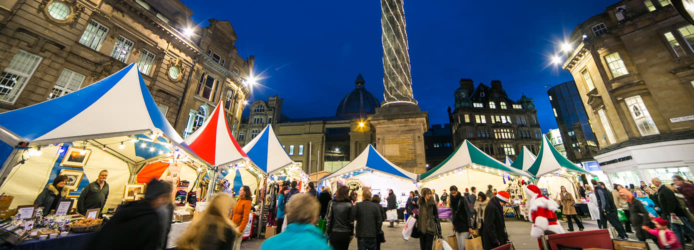 Christmas Market in Newcastle