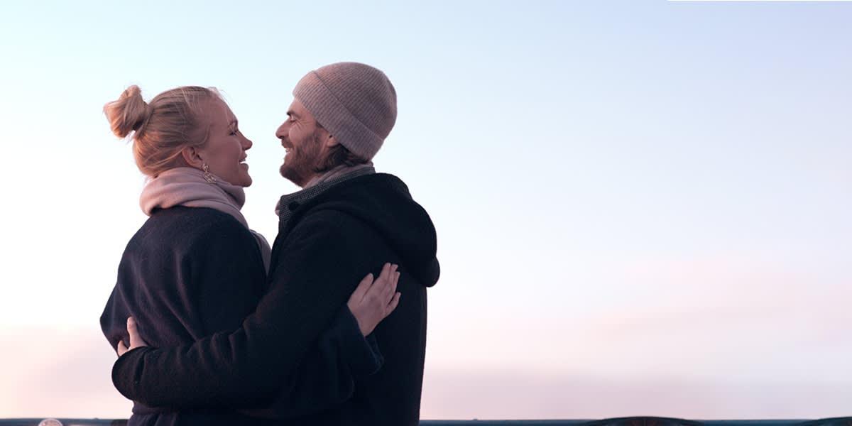Par på dækket - vinter