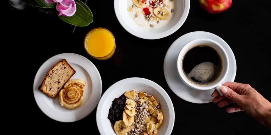 Explorers Kitchen Breakfast - Newcastle to Amsterdam