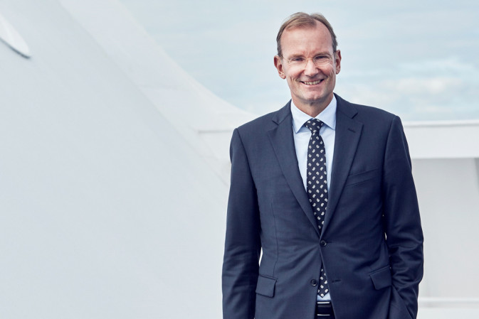 DFDS CEO Niels Smedegaard 2014 President and Chief Executive Officer
