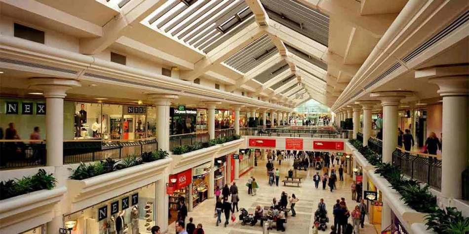 Enjoy shopping at Newcastle's shopping mall Eldon Square