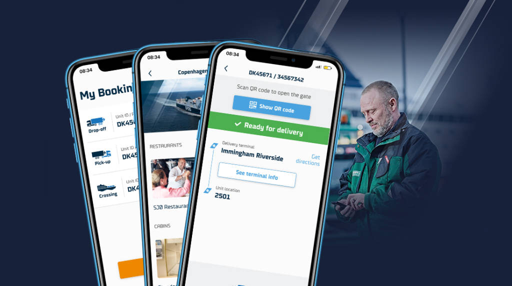 DFDS app image