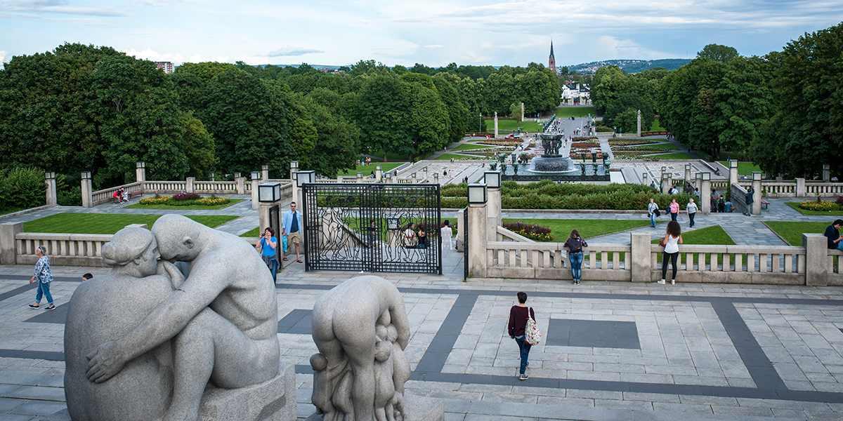 Oslo - Vigelandsparken - Photo credit Visitoslo - Thomas Johannessen