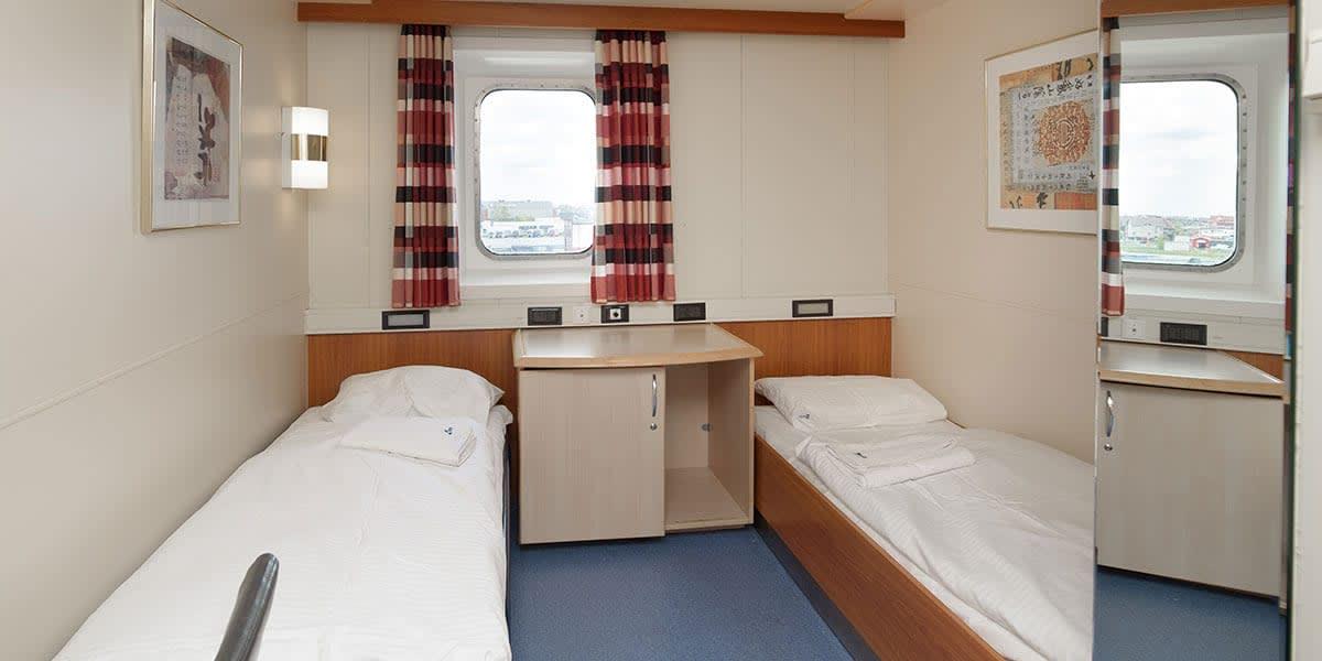Pet-friendly seaview cabin - Sirena Seaways