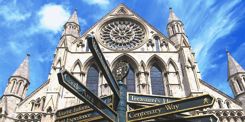 York Minster cathedral UK