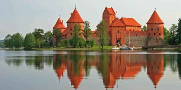 Zamek Trakai na Litwie