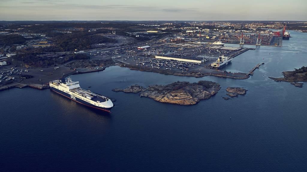 DFDS Gothenburg terminal 2018
