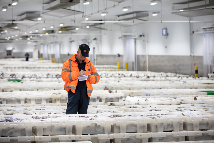 DFDS Cold chain warehouse