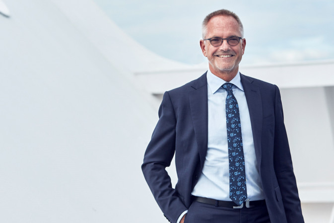DFDS Peder Gellert 2016 Executive Vice President Shipping Division