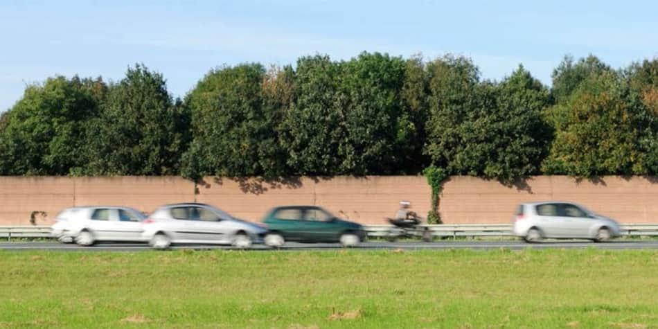 Motorcycling in Holland - lane splitting