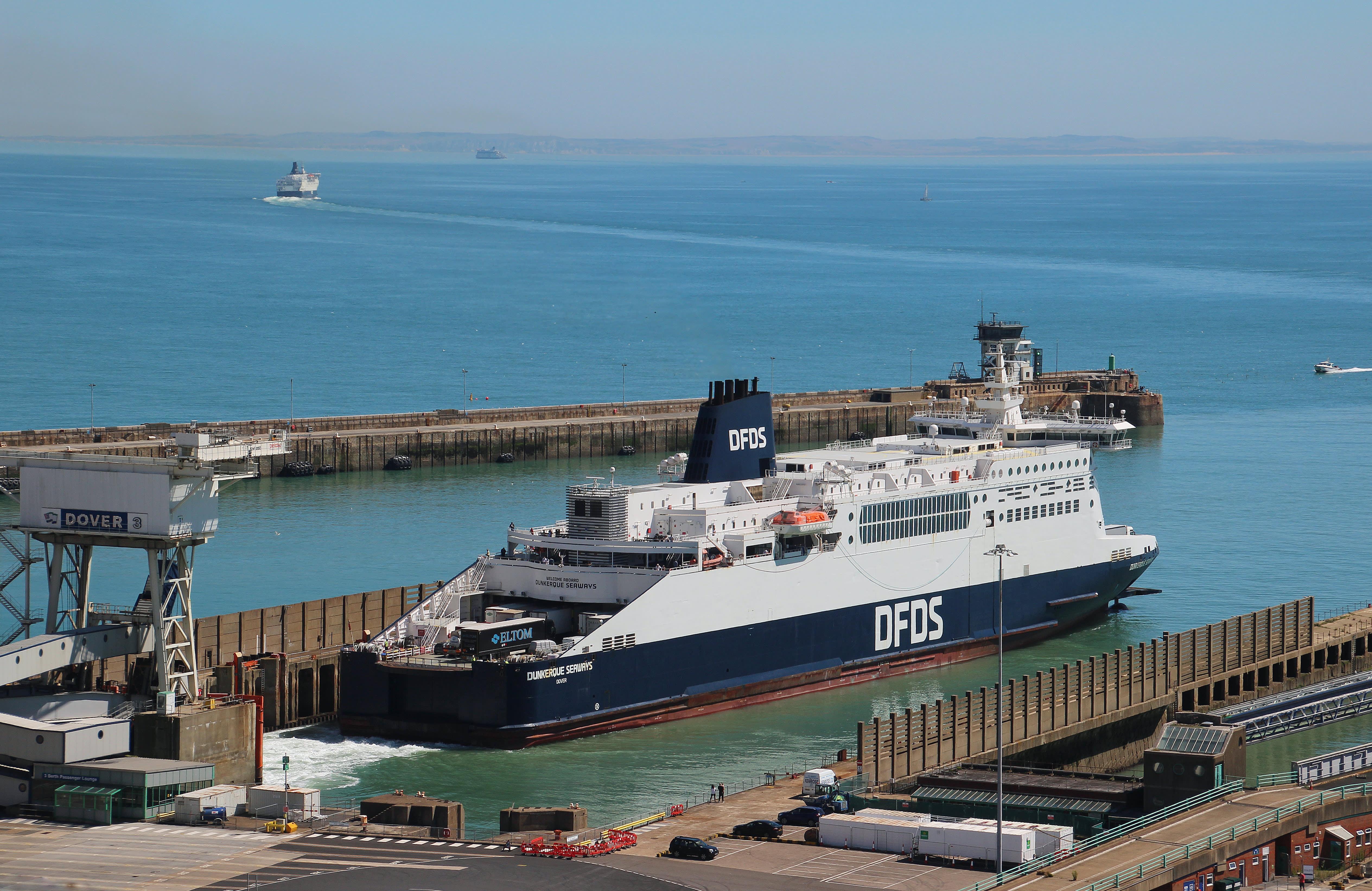 DFDS - Dunkerque Seaways