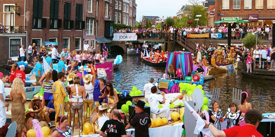 Music event in Amsterdam