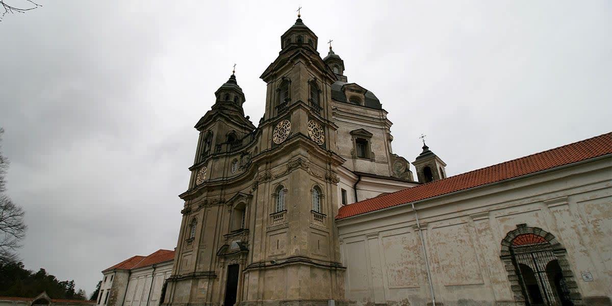 Pažaislis monastery, Kaunas, Lithuania