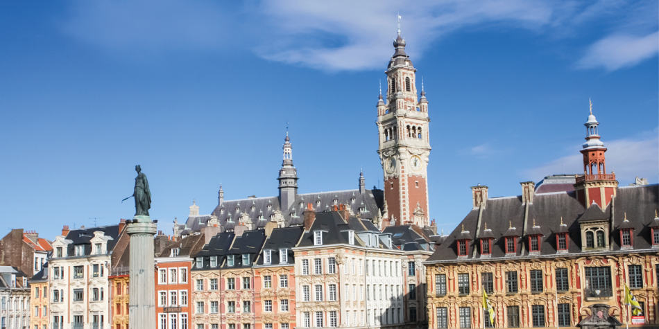 The Vieille Bourse in Lille, France