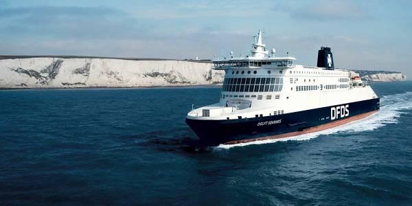 DFDS færge i Dover