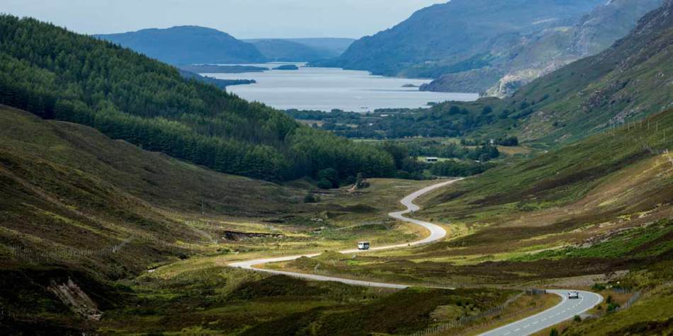 Road to drive your motorcycle on in Scotland