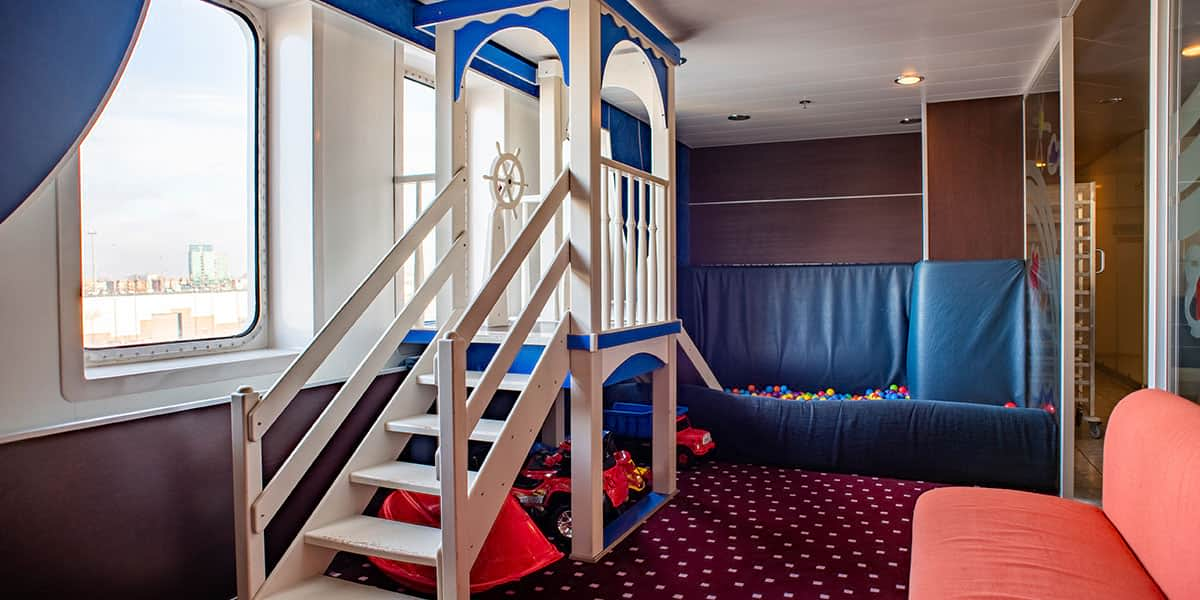 Kids playroom - Regina ferry