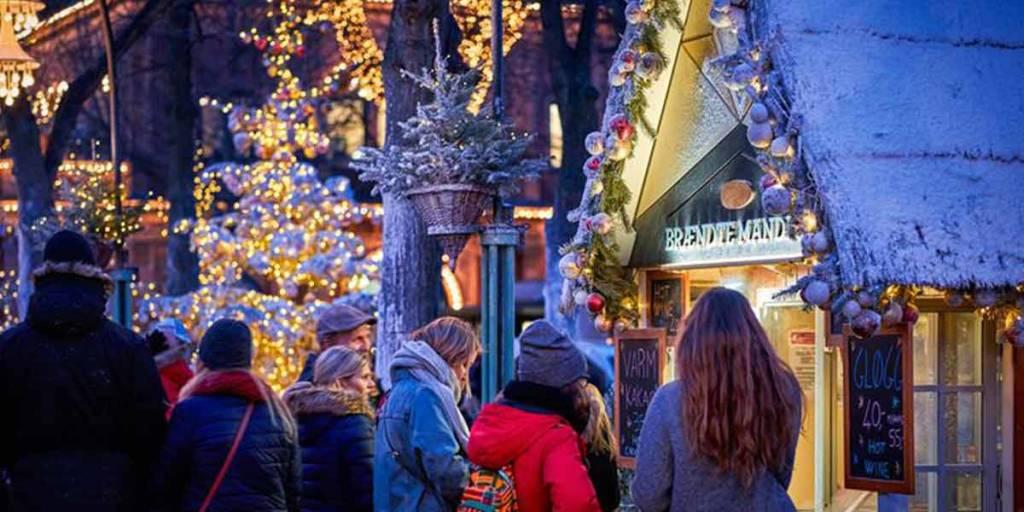 Christmas in Copenhagen - market