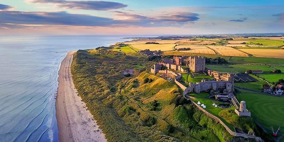 Northumberland, Angleterre du Nord