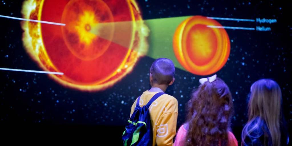 Planetarium - Made in space