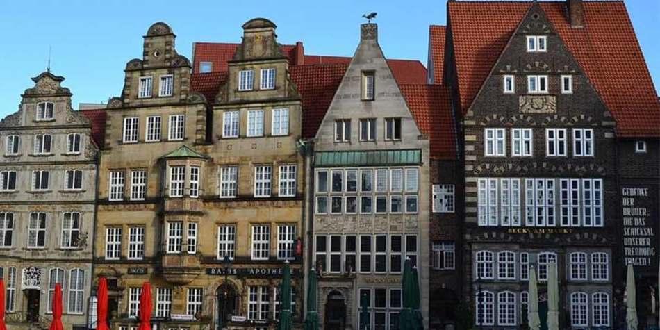Houses in Bremen, Germany