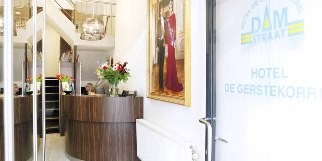 Hotel De Gerstekorrel Amsterdam Reception