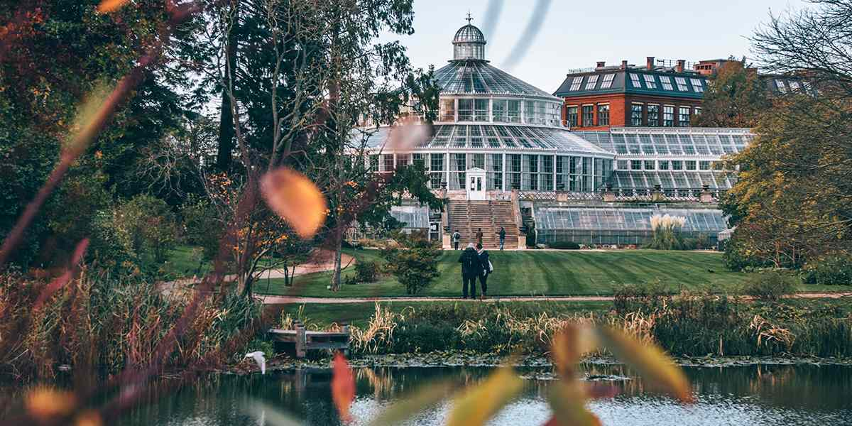 Botanical garden in Copenhagen Photo credit Daniel Rasmussen