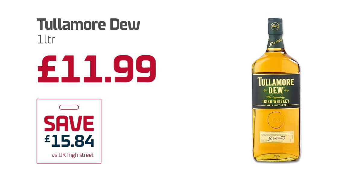 EC Duty free Q3 - Tullamore Dew