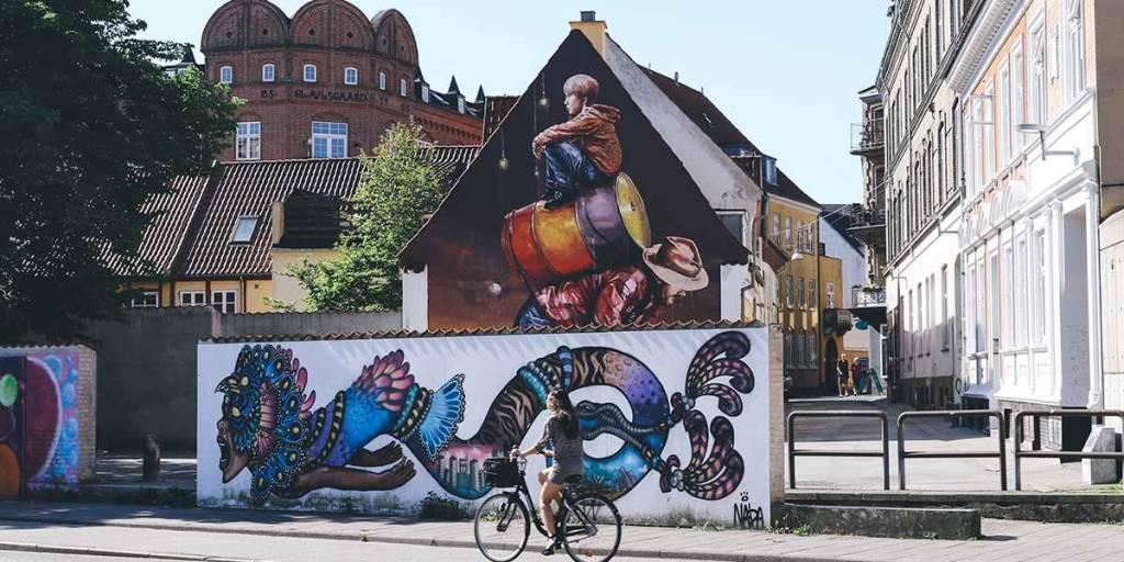 Aalborg street-art  - Visitaalborg PhotoCredit Kim-Mikael Jensen