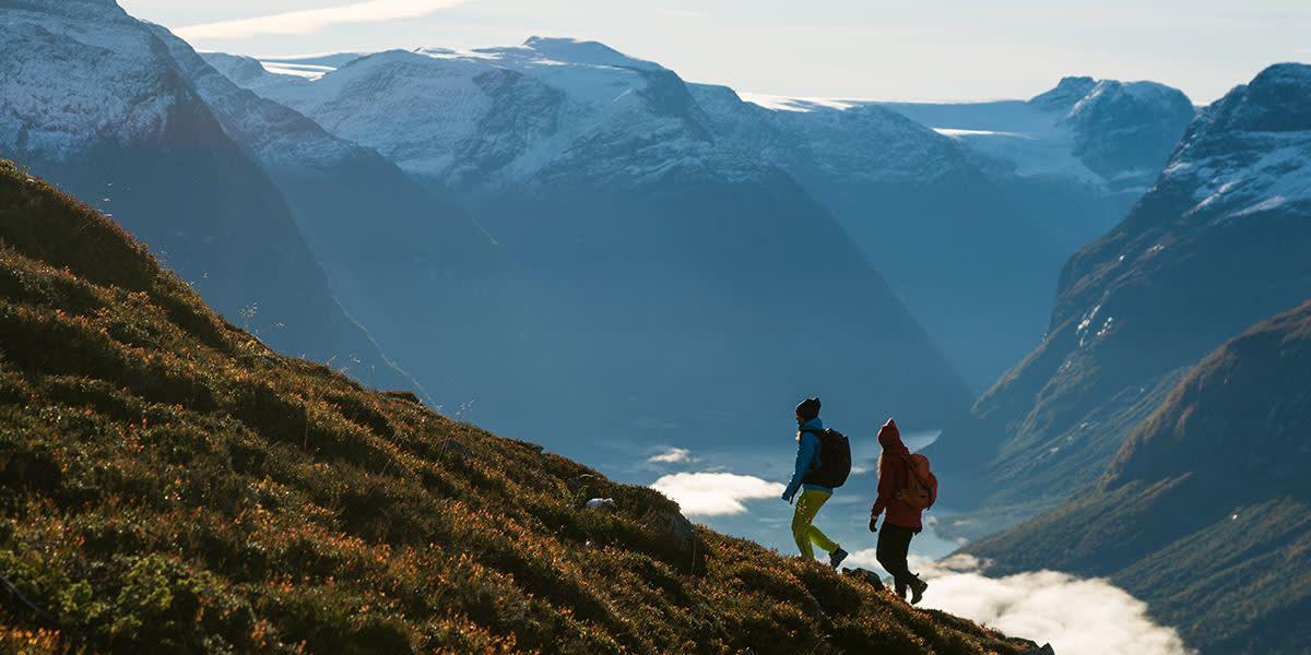Natur i Norge - hiking fra Loen-skylift - Photocredit Bård Basberg