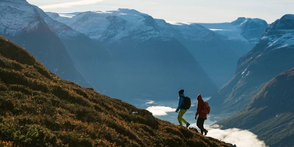 Nature in Norway - hiking from Loen-skylift - Photocredit Bård Basberg