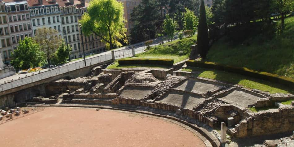 Lyon - Amphithéâtre des Trois-Gaules