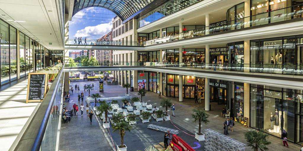 Shopping mall in Germany