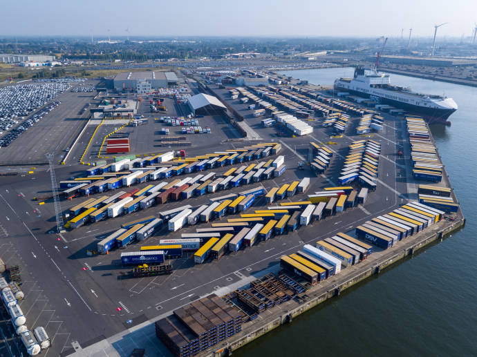 Ghent terminal DFDS