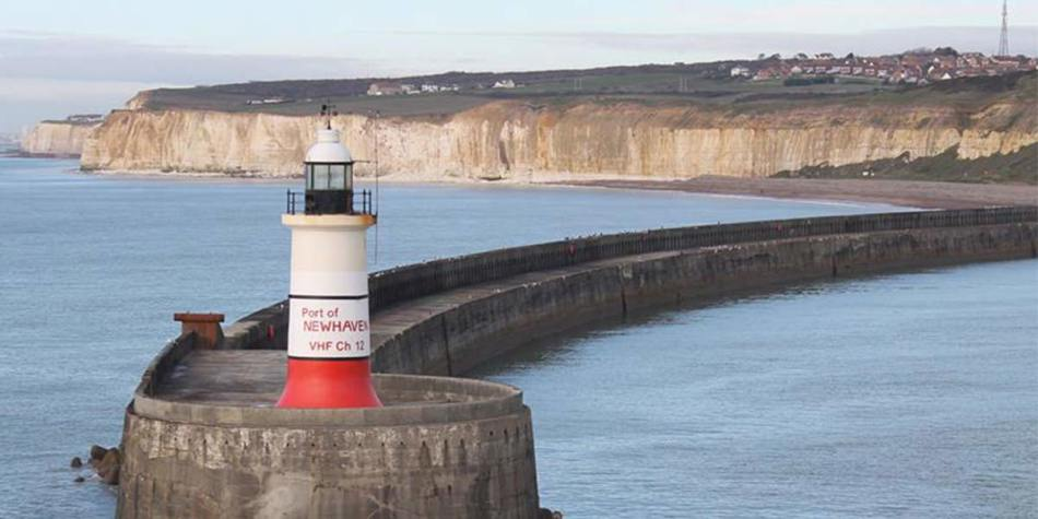 Lighthouse in Newhaven
