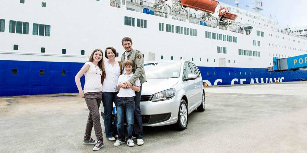 Travel with your car on DFDS ferries