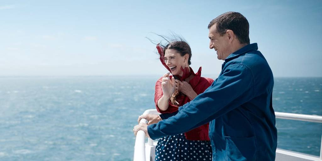 Couple onboard Dover-France ferry