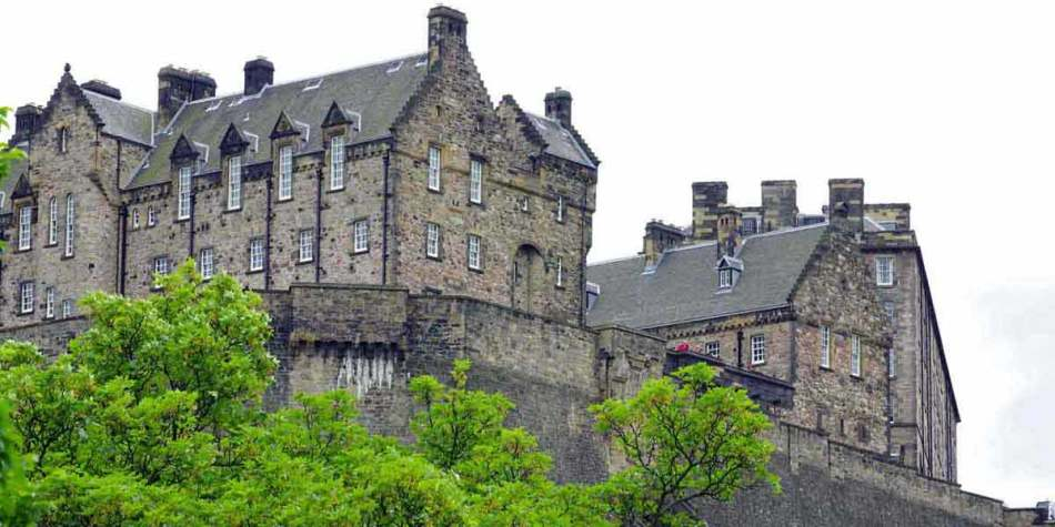 Edinburgh Castle near to Kinross