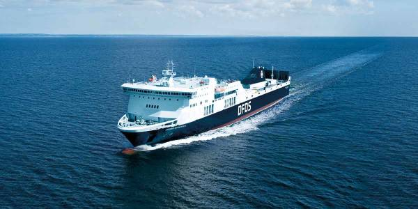 DFDS skipet Regina til sjøs