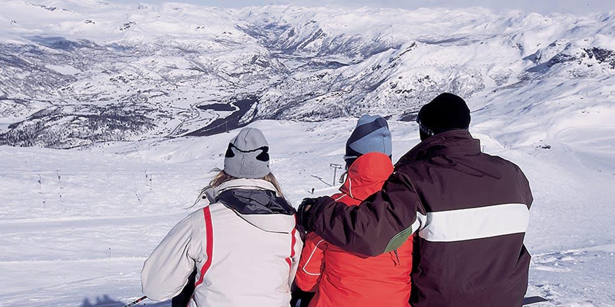 Skiing in Norway, Image Credit: Visitnorway.com