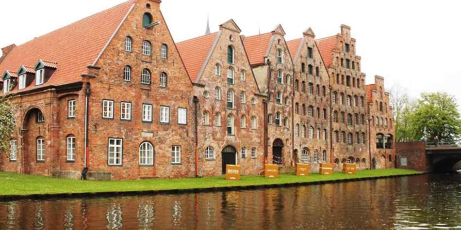 Building on the water in Lubeck