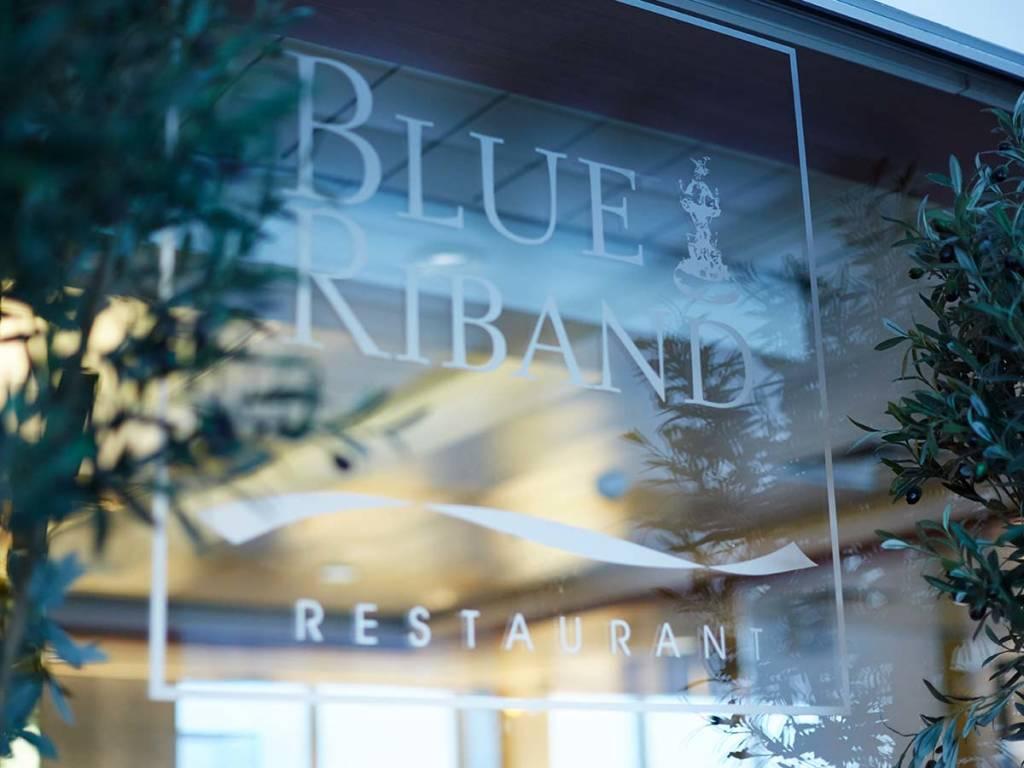 Blue Riband restaurant onboard Copenhagen-Oslo