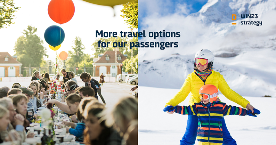 Pillar 3 of the DFDS' win23 strategy: travel options for passengers