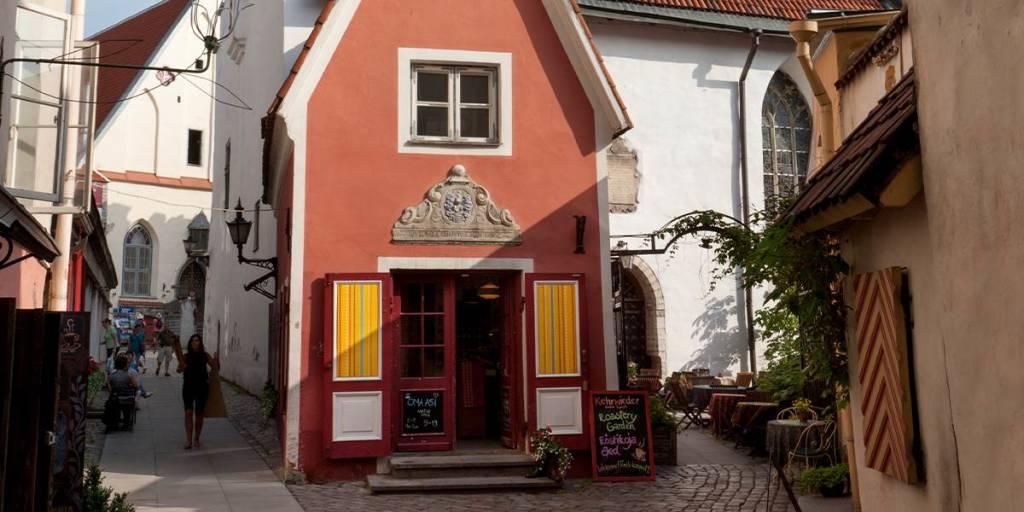 Tallinn old town - Saiakang