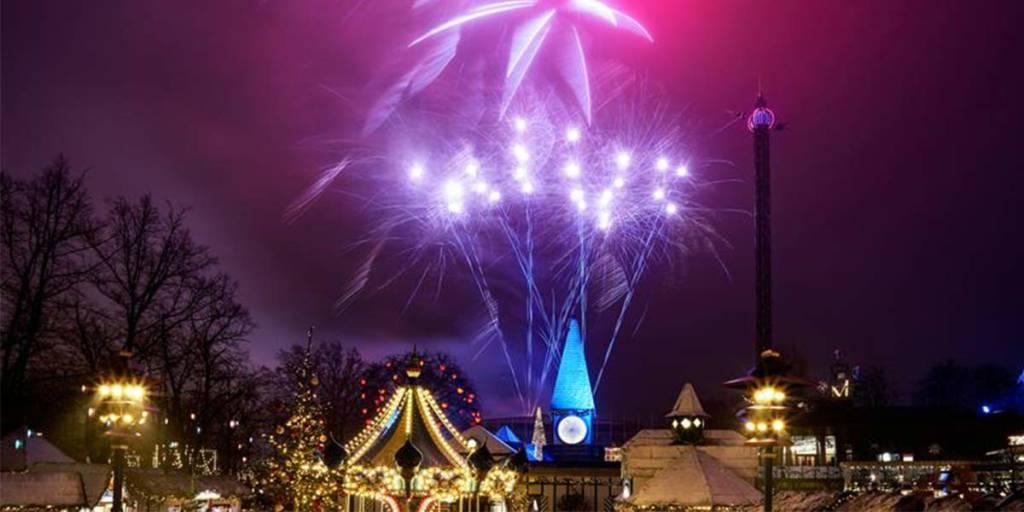 Tivoli Christmas - fireworks