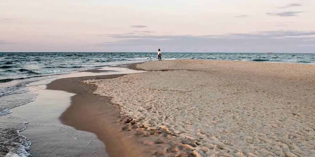 North Jutland - Denmark - Grenen in Skagen - Visitdenmark PhotoCredit: Mette Johnsen