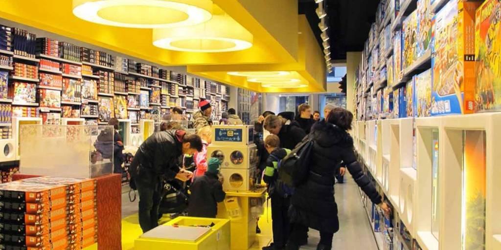Lego Store, København