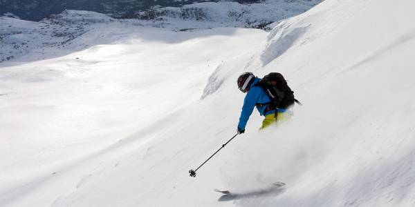 Skiing in Norway - Norefjell