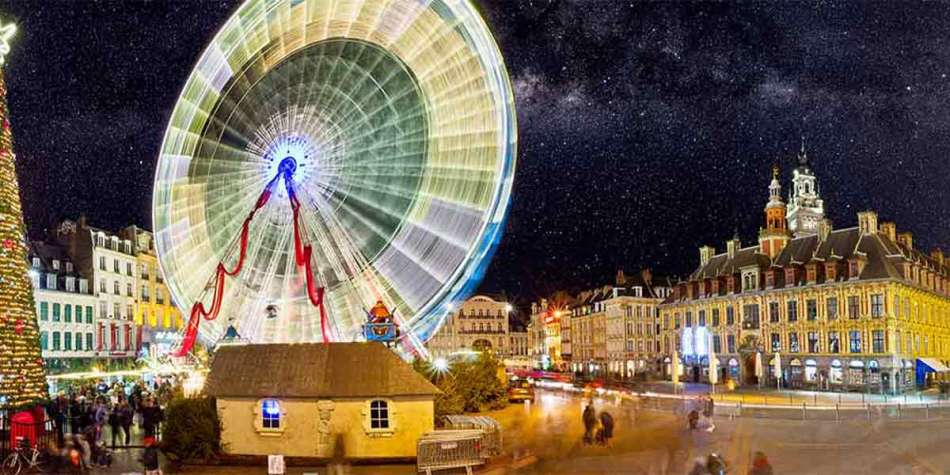 Christmas markets in Lille, France